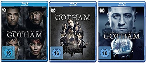 Gotham Staffel 1-3 (1+2+3) [Blu-ray Set] DC Serie
