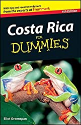 Costa Rica For Dummies by Eliot Greenspan (2011-11-08)