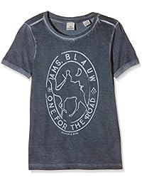 Scotch Shrunk Jungen T-Shirt S/S Tee with Oil Wash