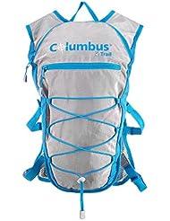 Columbus Amanzi 10 Mochila de Hidratación, Unisex Adulto, Azul, Talla Única