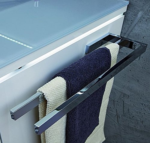 PURIS Handtuchhalter / PZ11281 / Chrom glänzend / 39x3x11cm