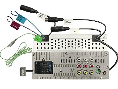 JVC-KWM745DBT-2-DIN-DAB-inkl-Antenne-Bluetooth-CarPlay-Android-Auto-mit-Einbauset-fr-Dacia-Duster-SD-2010-2013-braun