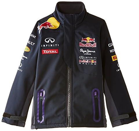 Pepe Red Bull Racing Collection Otl Softshell Junior - Blouson - Garçon, Bleu - Bleu marine, 10