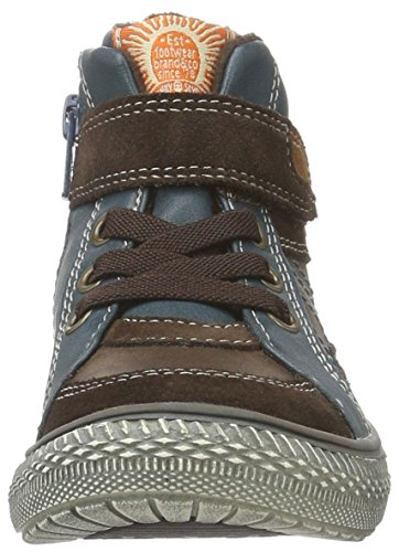 Indigo Jungen Sneaker Low-Top Braun (350 DK. BROWN) LaQiF