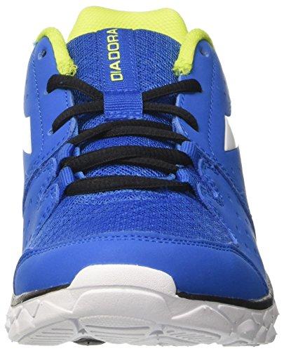 Diadora Hawk 7, Chaussures de Course Homme Bleu (Azzurro Cielo/bianco)