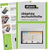 dipos I 2X Schutzfolie matt passend für Garmin Camper 770 LMT-D EU Folie Displayschutzfolie