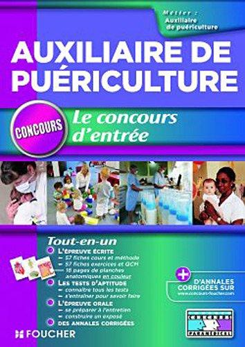 Auxiliaire de puériculture - Le concours d'entrée
