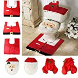 MingXiao New Cute Happy Babbo Natale Toilet Decoration Dinner Christmas Party Tools