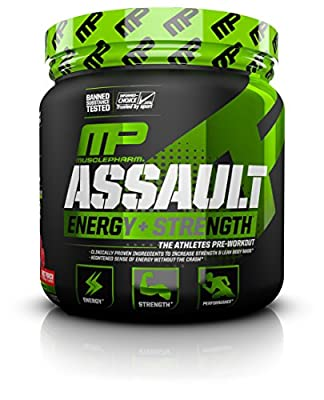 MusclePharm Assault Sport Fruit Punch Pre-Workout Supplement by MusclePharm