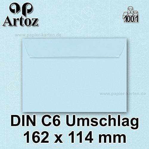 artoz-1001-dinc6-envelopes-100-g-m-parent-50-stuck-mit-geschenkbox-361-hellblau