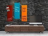 Master of Boards® Glas Magnettafel | Farbe wählbar | 20x60cm