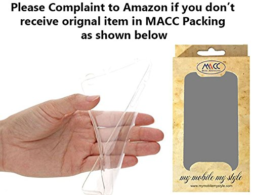 MACC Transparent Ultra Thin Back Cover Case For Asus Zenfone 2 Laser ZE550KL 5.5 Inches -WHITE  available at amazon for Rs.121