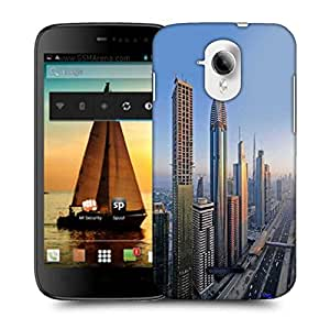Snoogg Amazing Building In Dubai Designer Protective Phone Back Case Cover For Micromax A117 Canvas Magnus