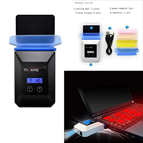 eimolife ® 2015 più recenti PC ventilazione dissipatore di calore con tecnologia più recente, il grande radiatore per Computer portatile, blocco note - Turbine Base