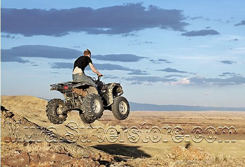 ATV Jumper Peel & Stick Wall Mural (10 1/2 Feet Wide x 8 Feet High) by Quick Murals