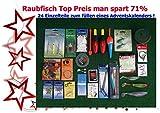 Adventskalender Raubfisch (5) 24 Einzelteile Anglergeschenk Raubfischzubehör Zubehör