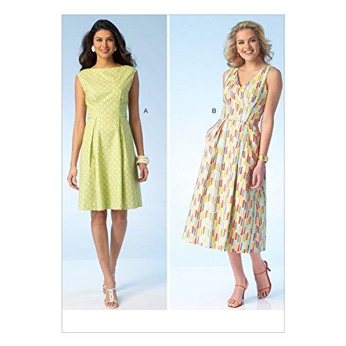 Kwik Sew Patterns K4097 OS Sizes X-Small/Small/Medium/Large/X-Large Misses Dresses Sewing Pattern