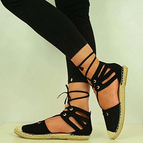 Cucu Fashion - Strap alla caviglia donna Nero (nero)