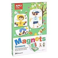 Apli kids Magnetic Set, Assorted Colour (17160)