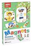 APLI Kids Juego magnético, Estaciones