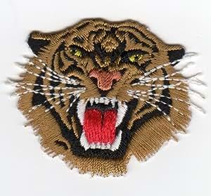 Ecusson thermocollant Tête de Tigre