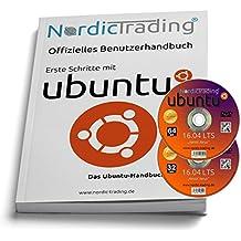 Ubuntu 16.04 LTS 32+64bit (2 DVDs!) incl. gedrucktem Handbuch (für V. 13.04)