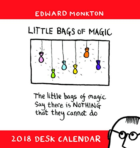 Edward Monkton Range - Desk Calendar 2018