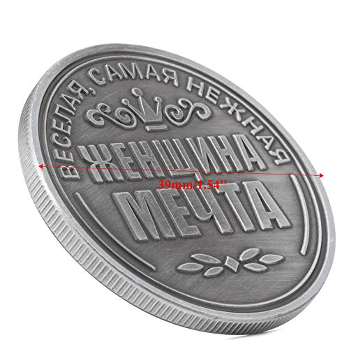 WuLi77 Russische Irina Gedenk Herausforderung Münzen Sammlung Sammlerstück Physisches Geschenk