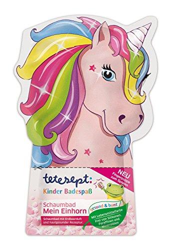 tetesept Niños de baño Diversión baño de espuma Mein Unicornio, 15unidades (15x 40ml)