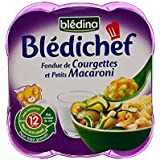 Blédina Fondu De Chef De Courgette Et Mini Macaroni (12 Mois) 2 X 230G - Paquet de 4