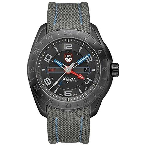 Luminox xcor Steel GMT Reloj de hombre gris/negro 5121. GN.XS