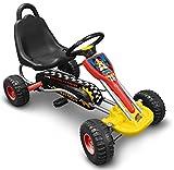 Stamp Mickey Racer Kart à pédale Rouge...