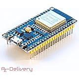AZDelivery ⭐⭐⭐⭐⭐ ESP32 NodeMCU Modulo WiFi Development Board WiFi con CP2102 per Arduino e con eBook Gratuito!
