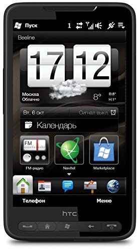 HTC HD2  Smartphone (HTC Sense, 5MP, LED Flash, Windows Mobile 6.5) (Windows Phone Htc)