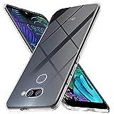 Ferilinso Hülle Kompatibel mit LG K50, Ultra [Slim Thin] Kratzfestes TPU Gummi Weiche Haut Silikon Fall Schutzhülle für LG K50 (Transparent)
