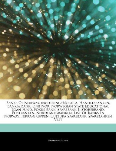 articles-on-banks-of-norway-including-nordea-handelsbanken-bankia-bank-dnb-nor-norwegian-state-educa