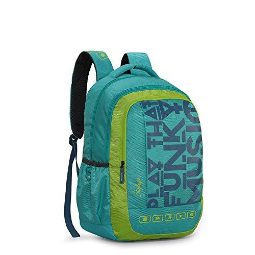 Skybags Bingo Plus 35.9856 Ltrs Blue School Backpack (SBBIP01BLU) Image 3