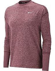 Nike W NK Elmnt Top Crew T-Shirt à Manches Longues Femme
