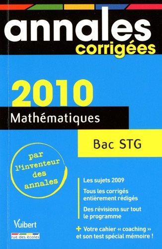 mathmatiques-bac-stg-2010