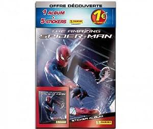 Panini - Album + 5 Stickers Spider-Man