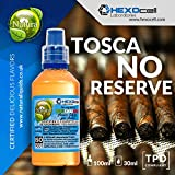 E LIQUID PARA VAPEAR - 30ml Toscano Reserve (Auténtico italiano toscano cigarro) Shake and Vape E Liquido para Cigarrillo Electronico, Shake n Vape Eliquido sin Nicotina