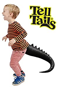 TellTails TT-UPKIDDINO Get Your Waggle on Wearable Dinosaur Tail Costume for Kids, Unisex-Child, One Size from TellTails