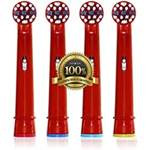 Los padres Dr. kao® estándar cabezales de cepillo de dientes electrónico–Cabezales para cepillo de dientes eléctrico para niños para Oral B Cepillo de dientes Heads Kids eb-10a