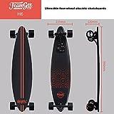 Teamgee H6Elektrisches Longboard Motorisierte Skateboard mit Fernbedienung von Teamgee, UK Adapter