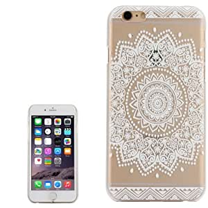 "Coque transparente "" Mandala fleur "" pour apple iphone 6 + Film de protection offe!"