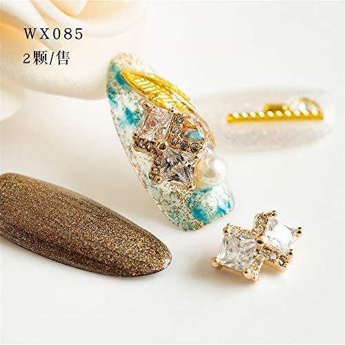 Strass,Nail Crown Diamond Fashion, Personnalité Simple Et Élégante, Tempérament Des Femmes Sauvages, Wx085-4Pcs / Pack
