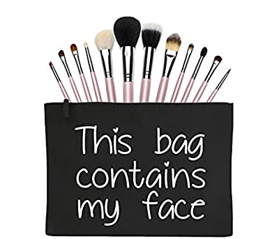 This bag contains my face Make-Up Bag / Accessories Case