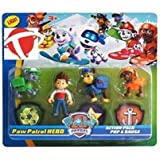 Crazy Zone Paw Patrol Action Pup & Badge, Ryder, Tracker, Robot Dog, Everest, Fun Loving Toy for Kids (Multi Color)