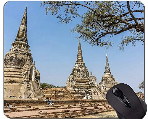 eleg, Statue Phra Nakhon Si Ayutthaya Buddah Buddha personifizierte Rechteck-Spiel-Mausunterlagen ()