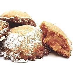Fagottini all'arancia, direttamente dalla Sicilia le famose frolle con ripieno all'arancia, prodotte artigianalmente da antico forno siciliano (gr.400)